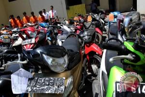 Polisi Mesuji tangkap komplotan pencuri sepeda motor