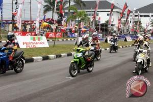 Ratusan pebalap ikuti Motoprix region Sumatera 2017