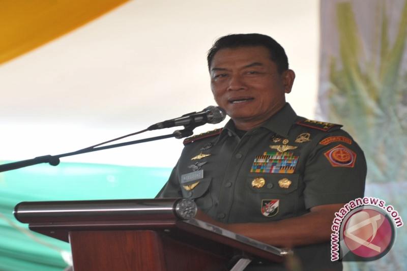 Panglima TNI enggan komentari penunjukan KSAD Gatot