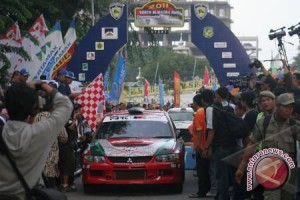 Pembalap Sumsel targetkan naik podium Kejurnas Rally