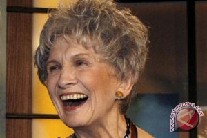 Alice Munro raih Nobel bidang sastra