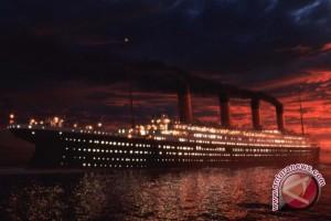 Menu makan malam kapal titanic dilelang