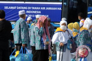 Pemulangan jamaah haji Palembang gelombang pertama berakhir