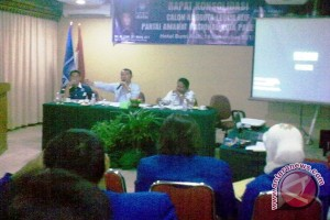 Caleg PAN Palembang rapat konsolidasi hadapi Pemilu