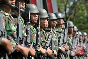 Satgas Kodam Sriwijaya amankan perbatasan Indonesia-Malaysia
