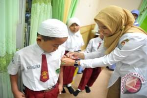 Pemkot Palembang target 95 persen anak imunisasi