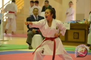 DKI Juara Kejurnas Karate Piala Mendagri