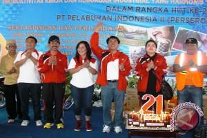 Pelindo Palembang kenalkan dunia maritim kepada pelajar