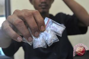 Sembilan anggota polisi gelapkan sabu-sabu
