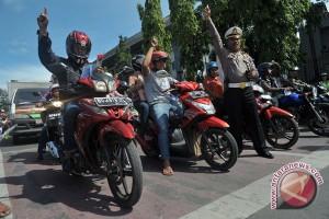 Masyarakat Palembang belum tertib berlalulintas