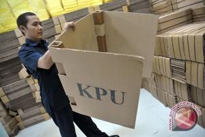Ribuan bilik suara di KPU Palembang raib