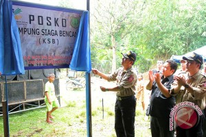 578 kampung siaga bencana terbentuk di Indonesia