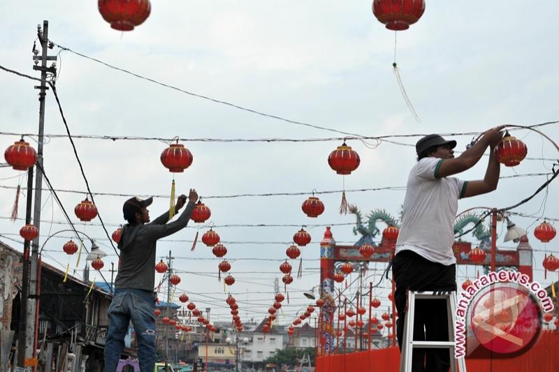 Pemprov lepas seribu lampion jelang Asian Games