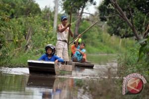 Lima desa Banjir akibat luapan Sungai Rokan