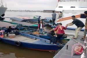 Kapal cepat MP Jejoven Jambi-Batam tenggelam