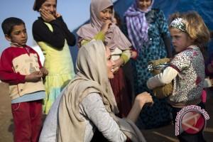 Angelina Jolie kunjungi kamp pengungsi Suriah