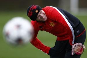 Rooney absen saat lawan ST Etienne
