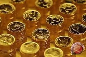 Emas turun tertekan penguatan data ekonomi AS