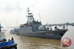 Kapal MT Angeline 2 di tangkap Lantamal IV
