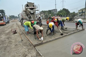 Pembangunan infrastruktur Palembang serap ribuan tenaga lokal