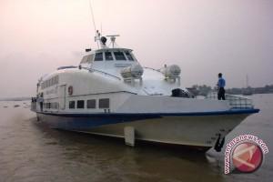 Pelayanan kapal cepat Palembang-Bangka kembali setiap hari