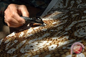 Disperidagkop bangka barat gelar pelatihan batik