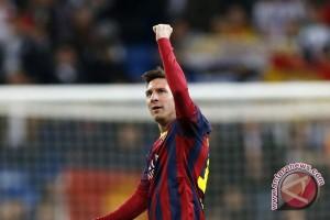 Messi berikan Barca gelar Liga spanyol ke-23