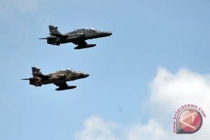Pesawat tempur TNI jatuh di Malang