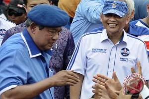 Pramono Edhie dampingi SBY kampanye di Palembang