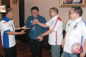 Pramono-SBY umumkan tujuh kabar baik di Palembang