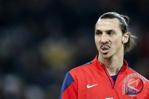 Ibrahimovic selamatkan MU dari kekalahan saat lawan Liverpool