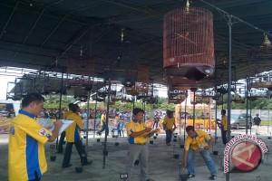 Lomba kicau burung di Baturaja