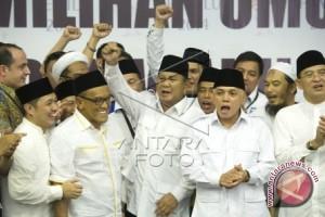 Prabowo ucapkan selamat Idul Fitri kepada relawan