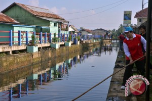 Pemkot Palembang normalisasi sungai cegah banjir
