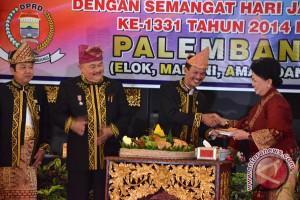 Kota Palembang rayakan HUT ke-1.333