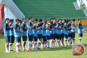 Timnas U-19 seleksi pemain di Makassar