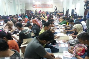 Pelipatan surat suara pilgub Sumsel di Kabupaten