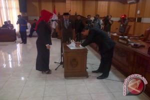 Zaplin dilantik jadi Ketua DPRD OKU Juni