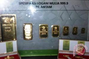 Penjualan logam mulia di Palembang meningkat