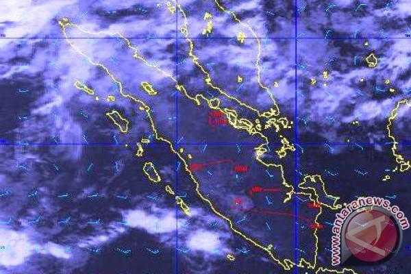 BMKG: 19 titik panas terdeteksi di Sumatera