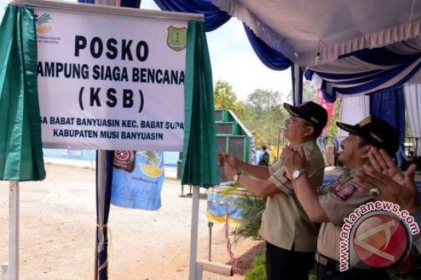 Dinsos Sumsel lanjutkan pembentukan kampung siaga bencana
