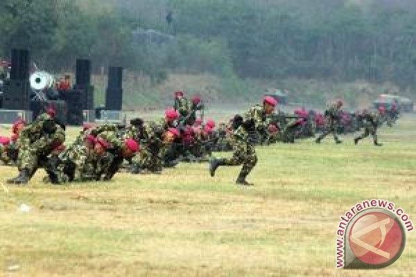 TNI AD  akan laksanakan latihan pertempuran gabungan