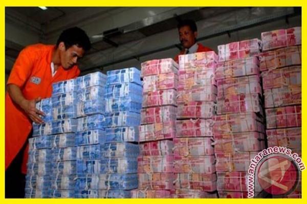 Nilai tukar rupiah menguat jadi Rp13.344