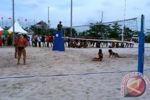 Sumsel datangkan pasir voli pantai dari Belitung