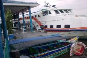 Pengguna kapal cepat Palembang-Bangka sepi