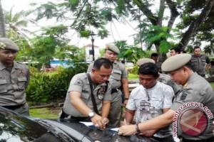 PKL di depan TVRI Palembang ditertibkan Satpol PP