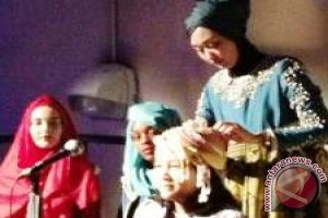 Desainer Palembang Dian Pelangi kenalkan hijab fashion ke dunia