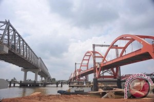Pembebasan lahan jembatan Musi IV terganjal dana