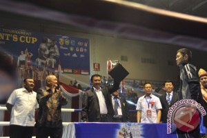 Pembukaan Tinju Piala Presiden XXII