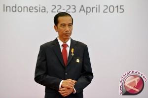 Presiden Jokowi minta penegak hukum bersinergi berantas korupsi